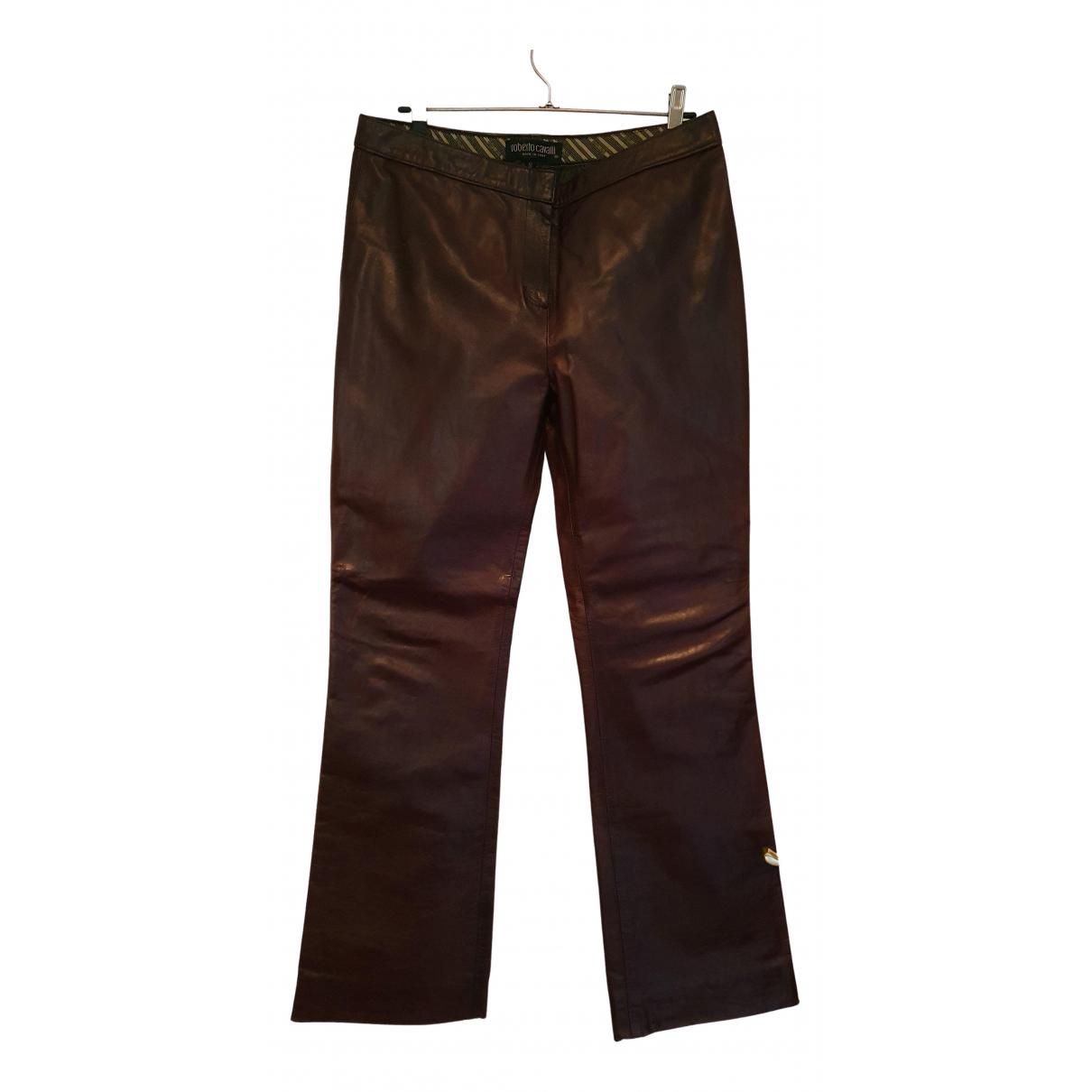 Pantalon de Cuero Roberto Cavalli