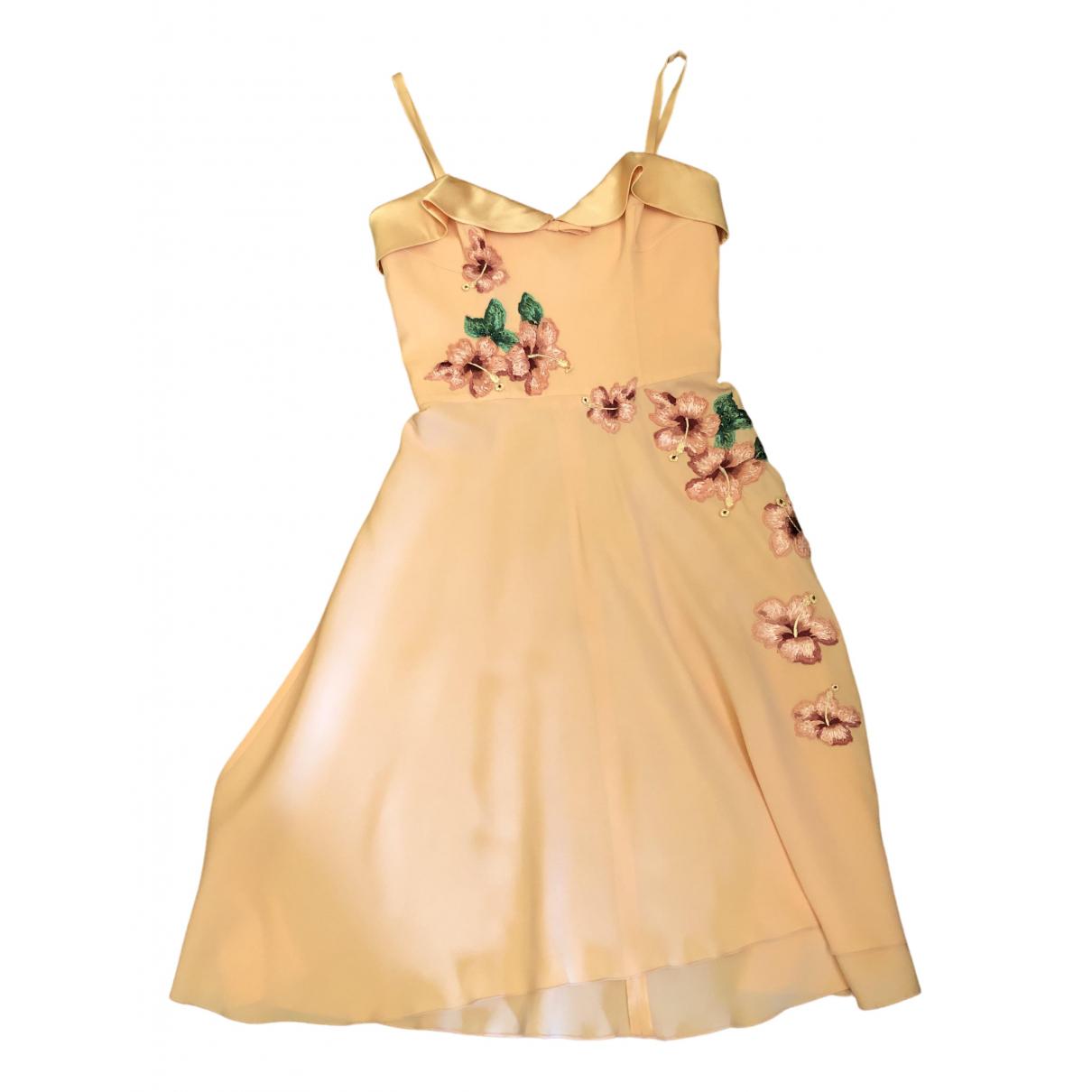 Dolce & Gabbana N Pink Silk dress for Women 40 IT