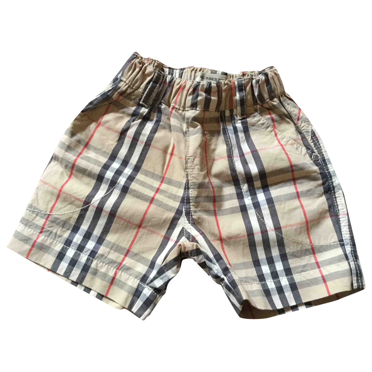 Burberry \N Beige Cotton Shorts for Kids 9 months - up to 71cm FR