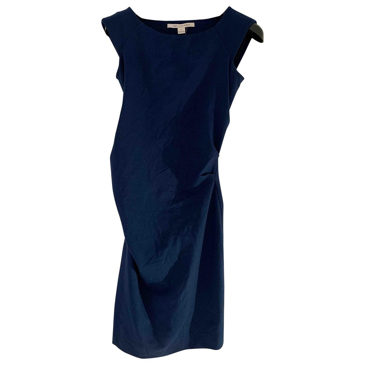 Diane Von Furstenberg \N Kleid in Baumwolle - Elasthan