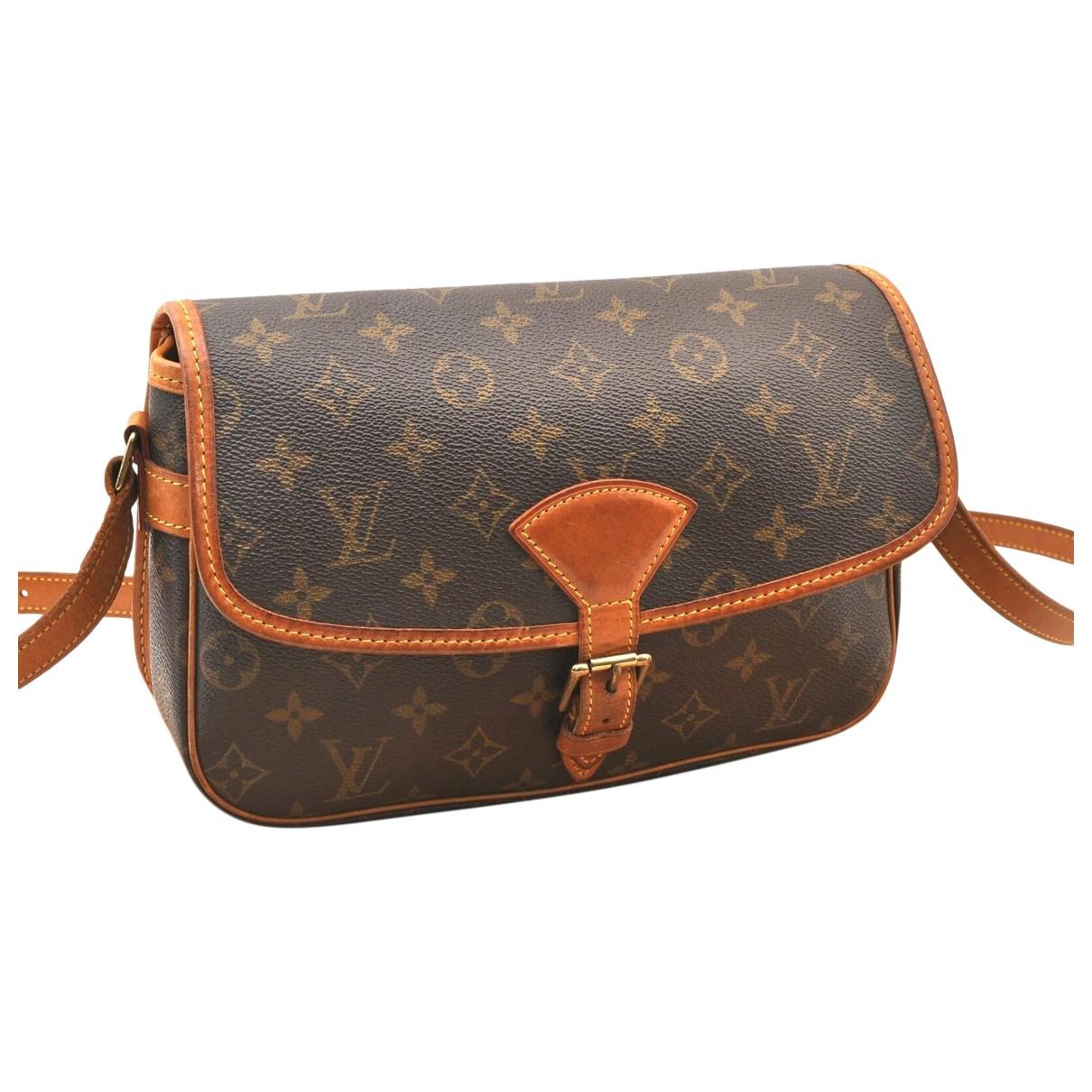 Louis Vuitton Sologne Brown Cloth handbag for Women N
