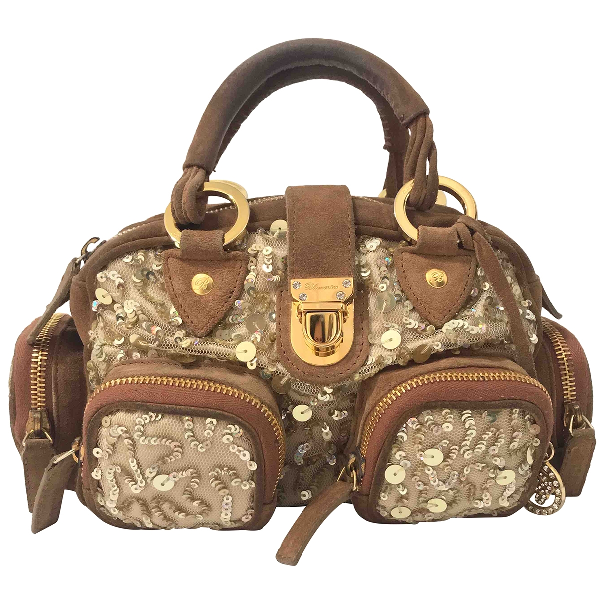 Blumarine \N Handtasche in  Beige Synthetik