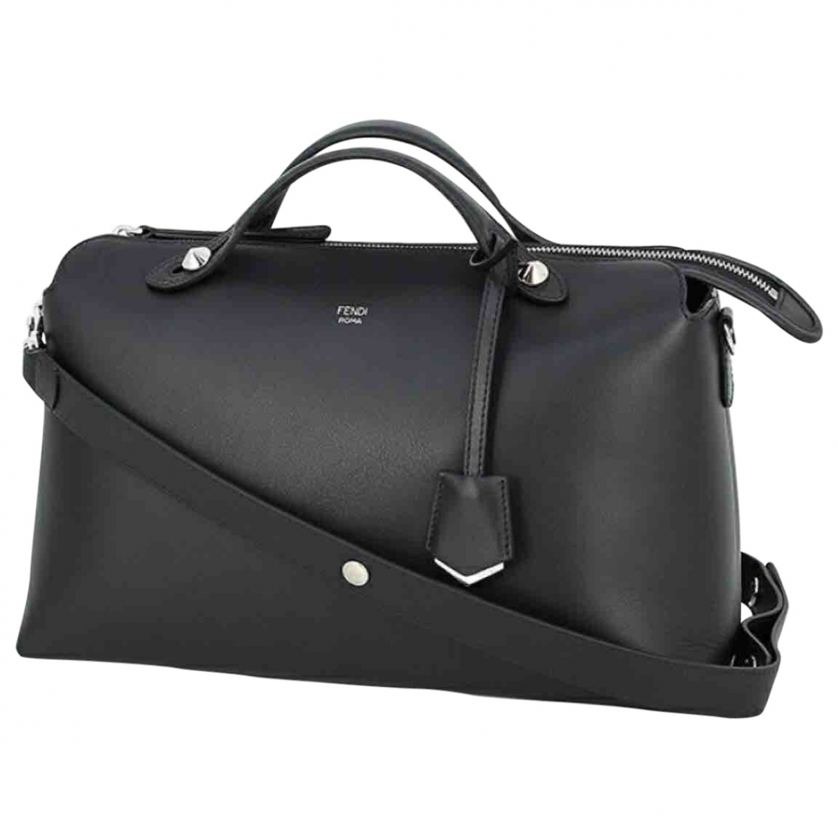 Fendi By The Way  Black Leather handbag for Women \N