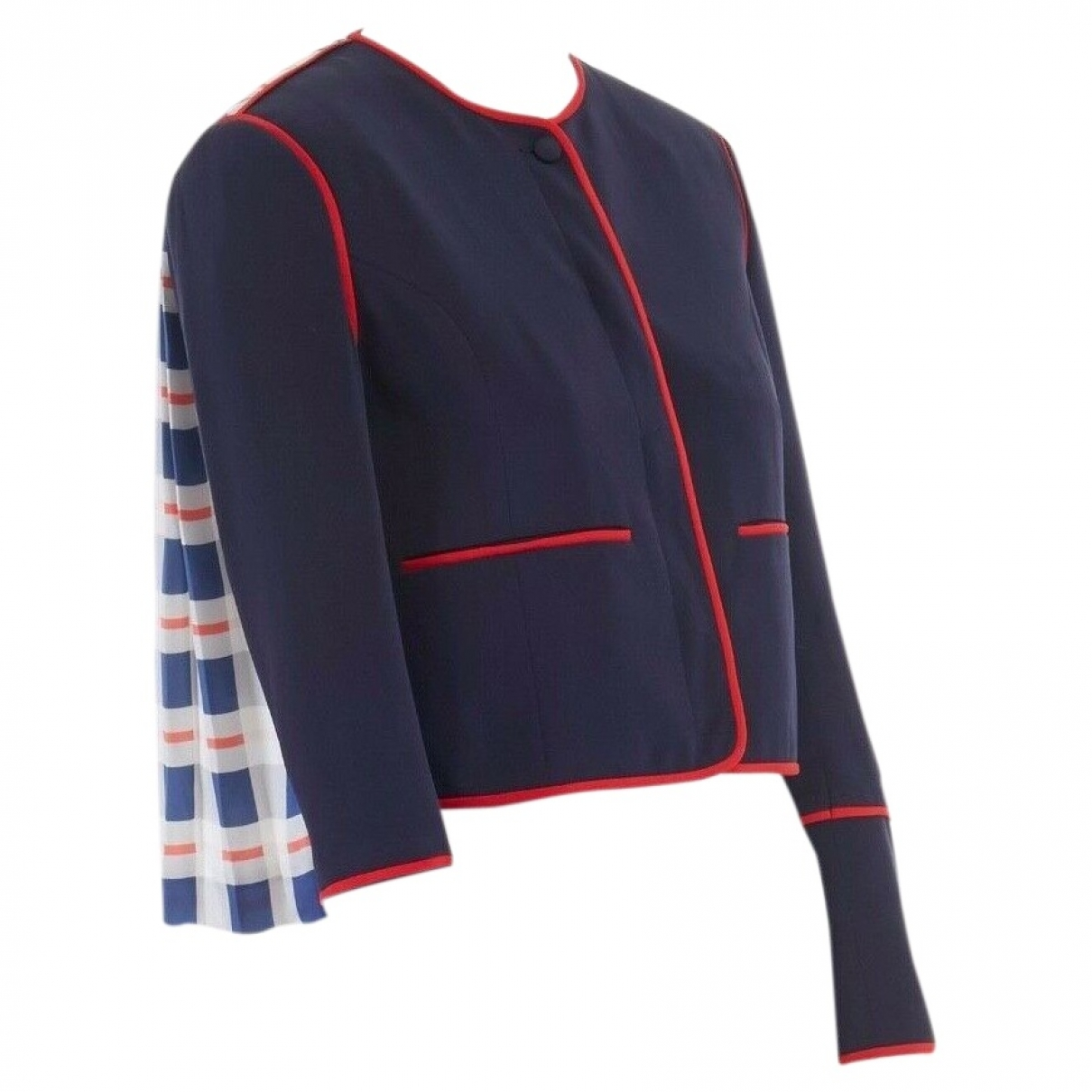 Thom Browne \N Blue Silk jacket for Women 1 US