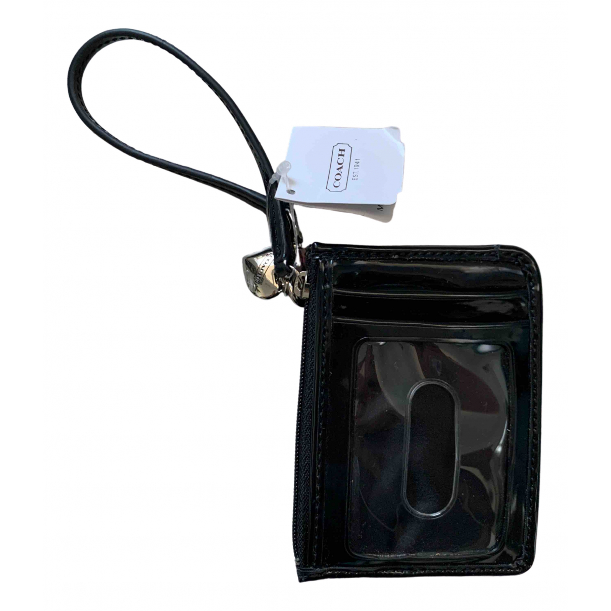 Coach \N Black Patent leather Purses, wallet & cases for Women \N