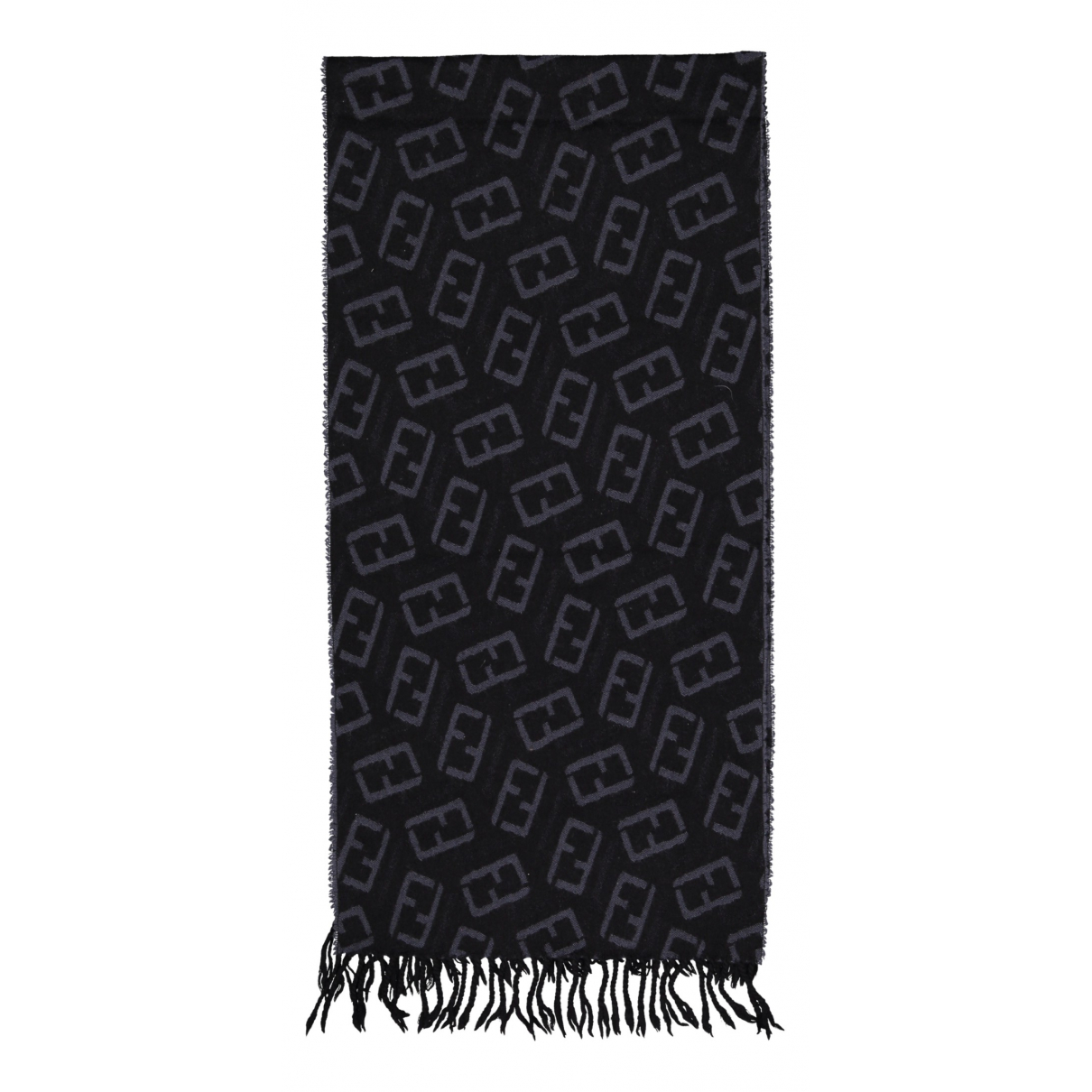 Fendi N Black Wool scarf for Women N