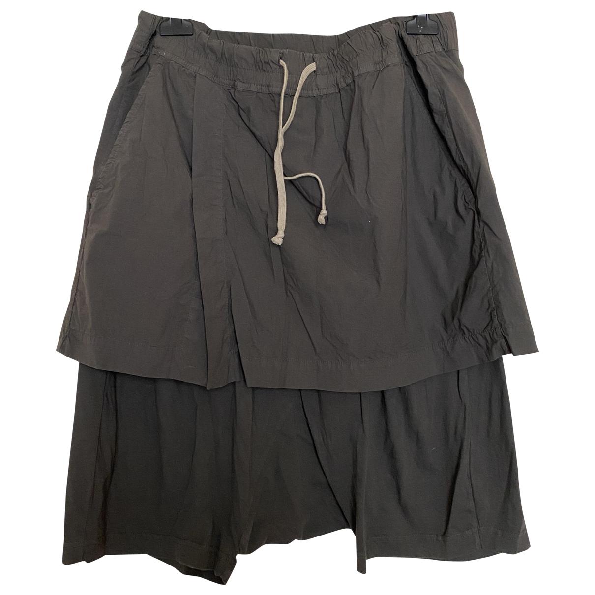 Rick Owens Drkshdw - Short   pour homme en coton - gris