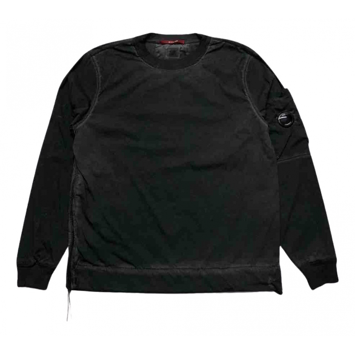 Cp Company \N Pullover.Westen.Sweatshirts  in  Schwarz Baumwolle