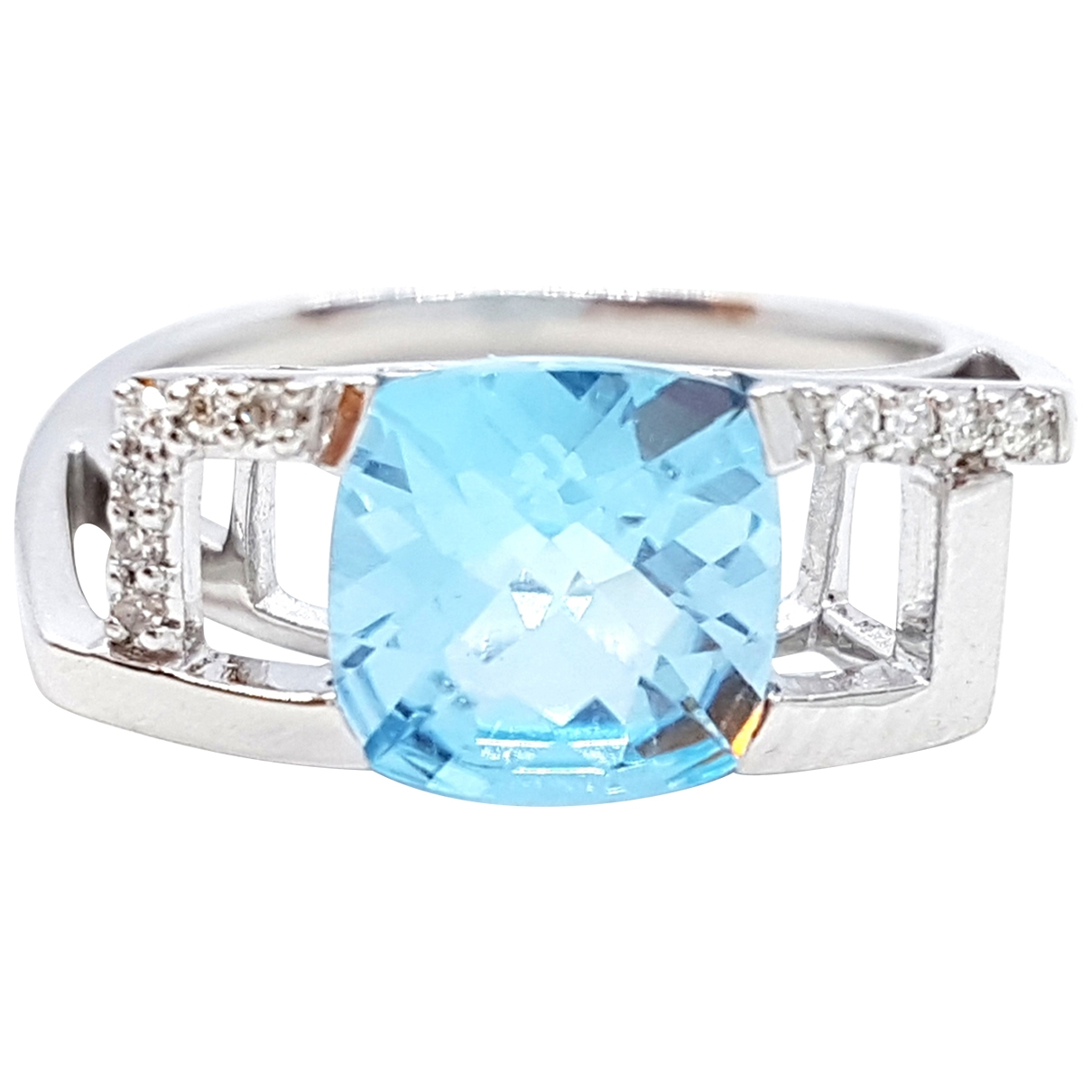 Autre Marque \N Silver White gold ring for Women \N