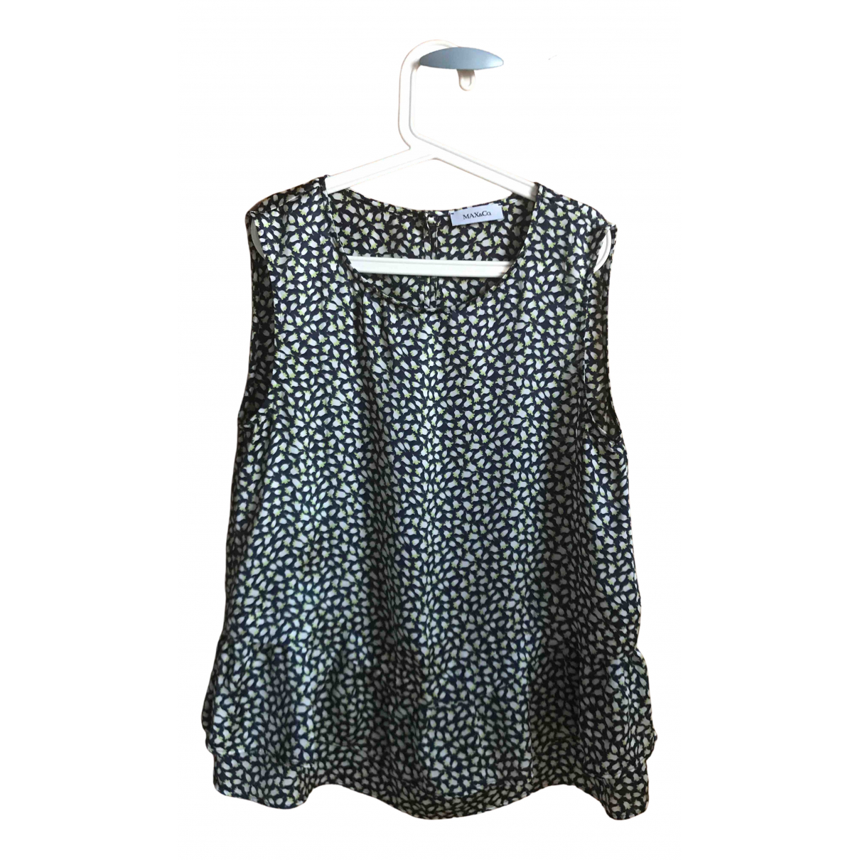 Max & Co N Blue  top for Women 38 FR
