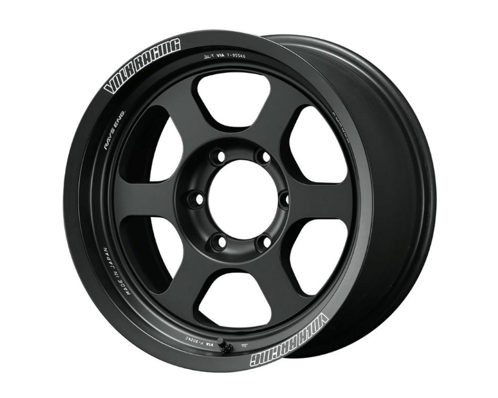 Volk Racing WVDOP-10KBC TE37XT M-Spec Wheel 17x8.5 6x139.7 -10mm Blast Black