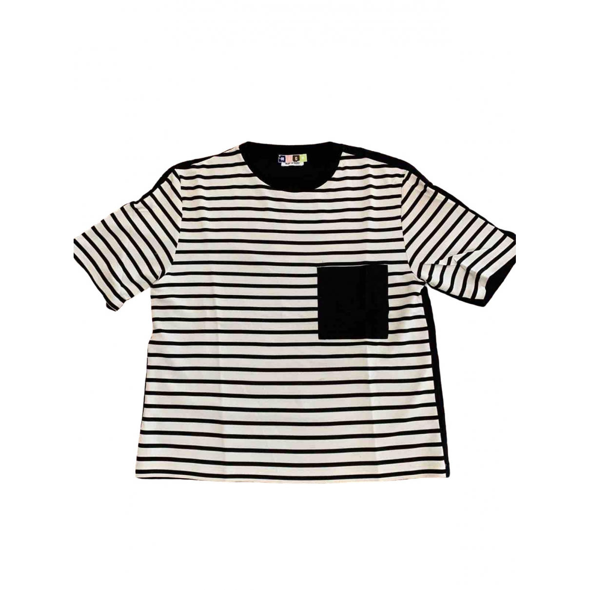 Msgm - Tee shirts   pour homme - blanc