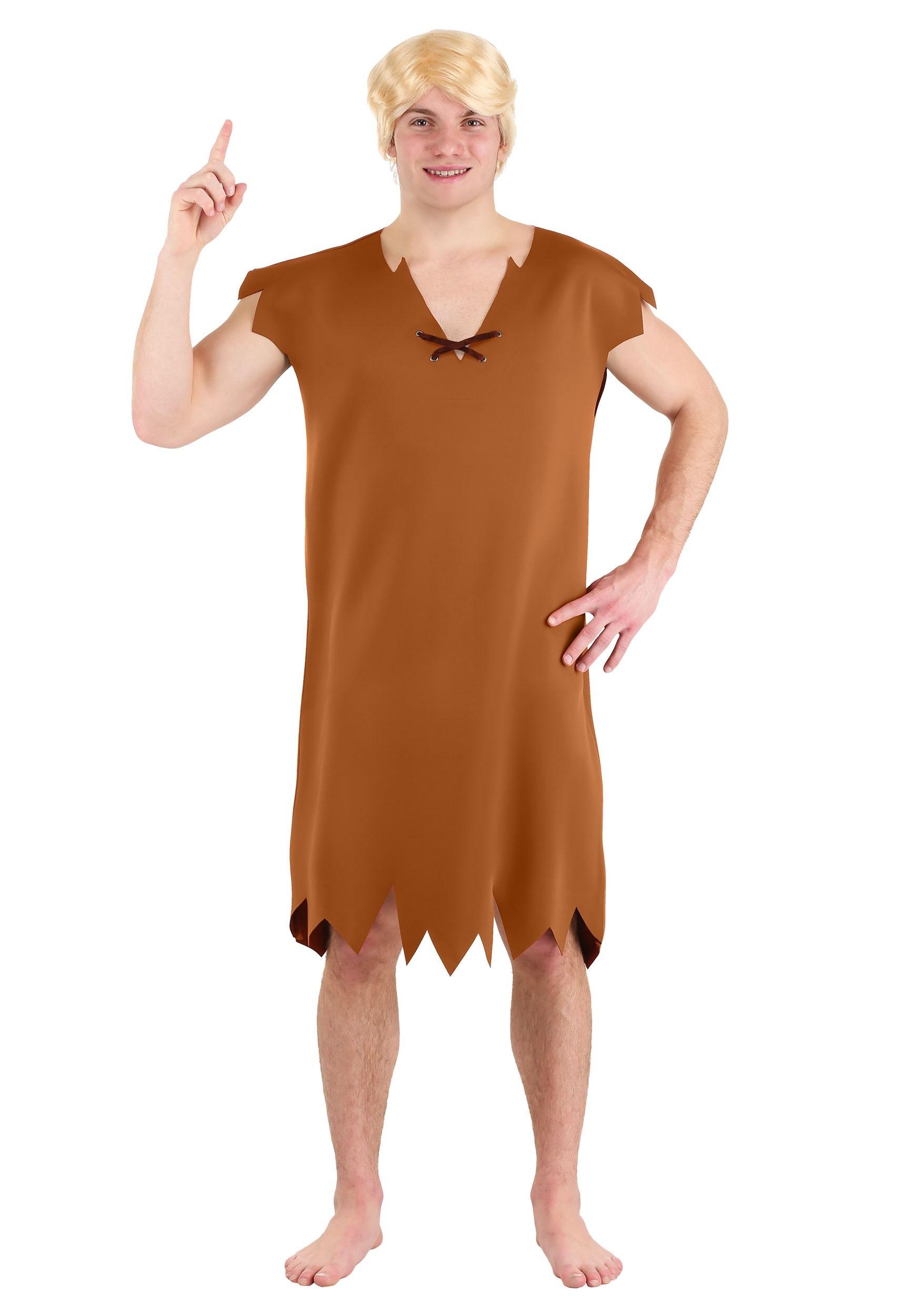 Classic Mens Flintstones Barney Costume