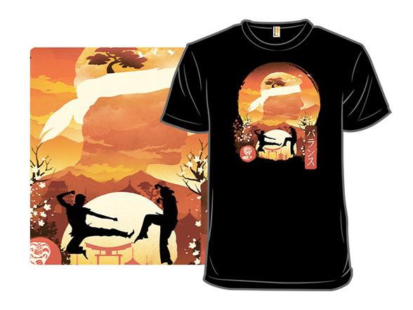 Miyagi Do Sunset T Shirt
