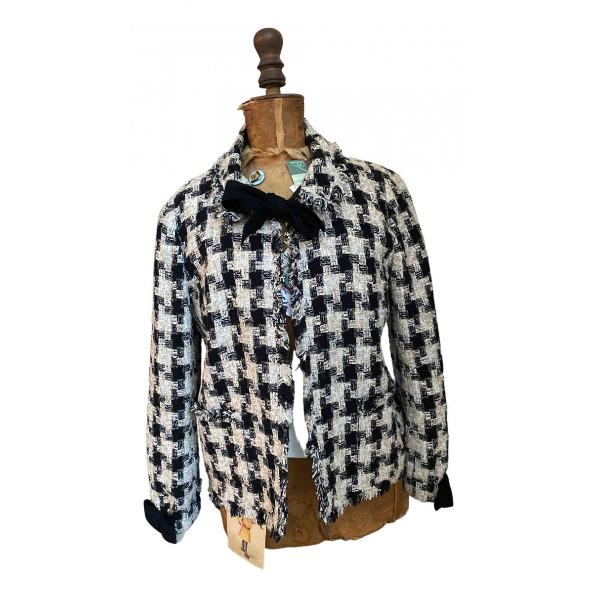 Chanel - Veste   pour femme en soie - noir