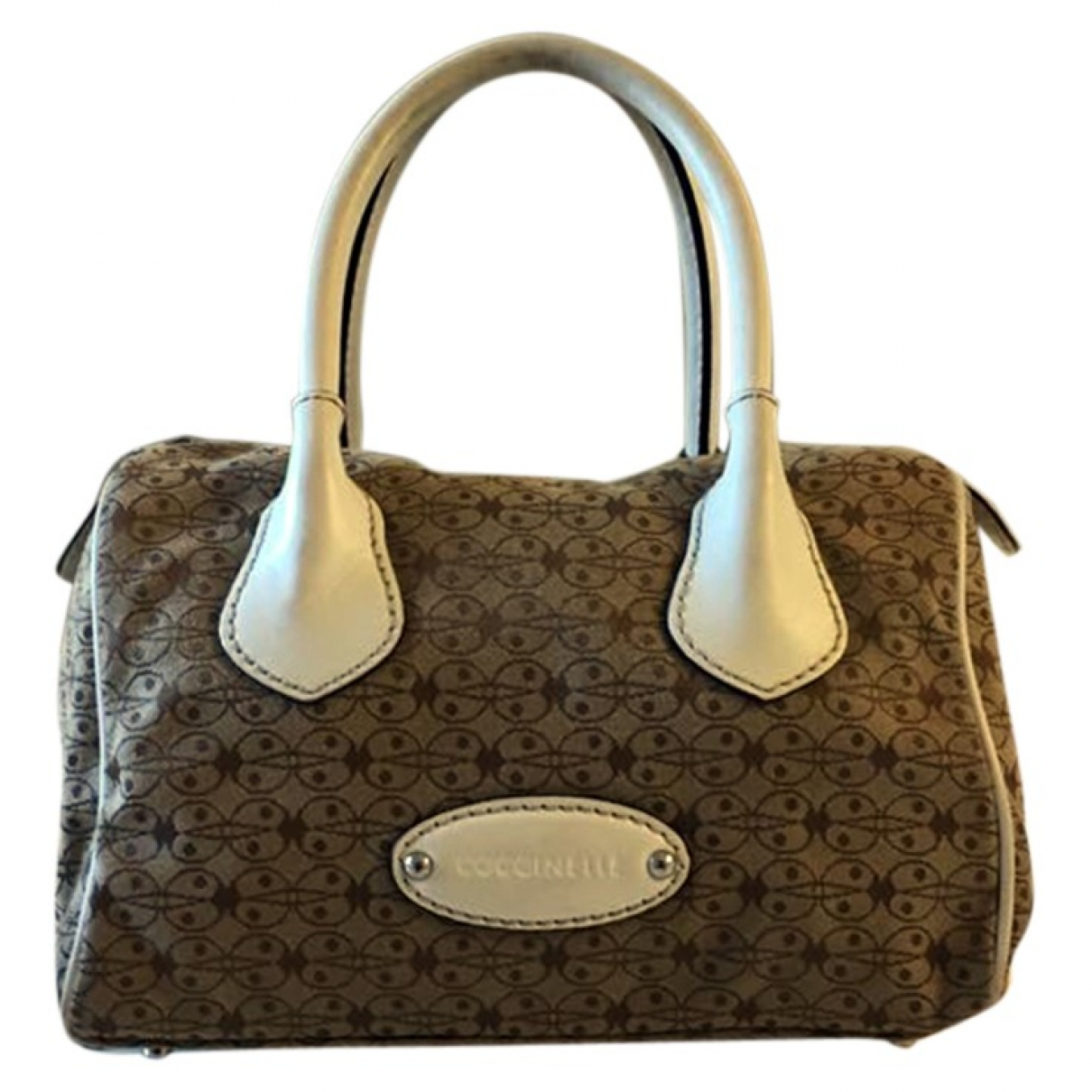 Coccinelle \N Beige Cloth handbag for Women \N