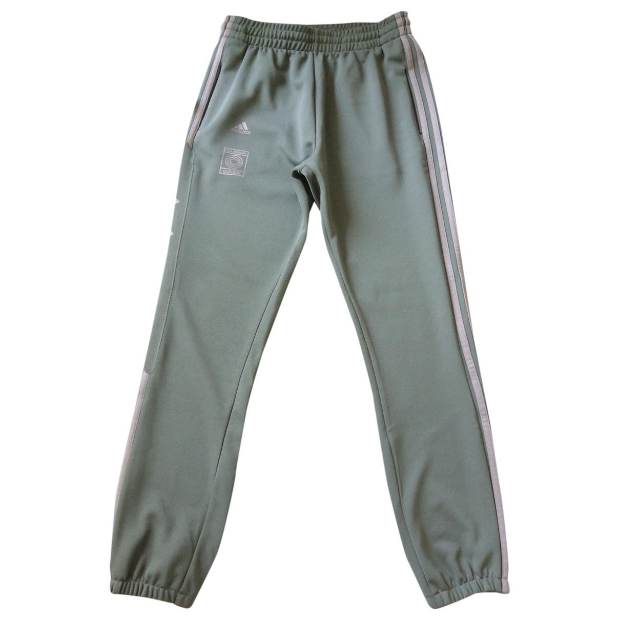 Yeezy X Adidas \N Green Trousers for Men S International