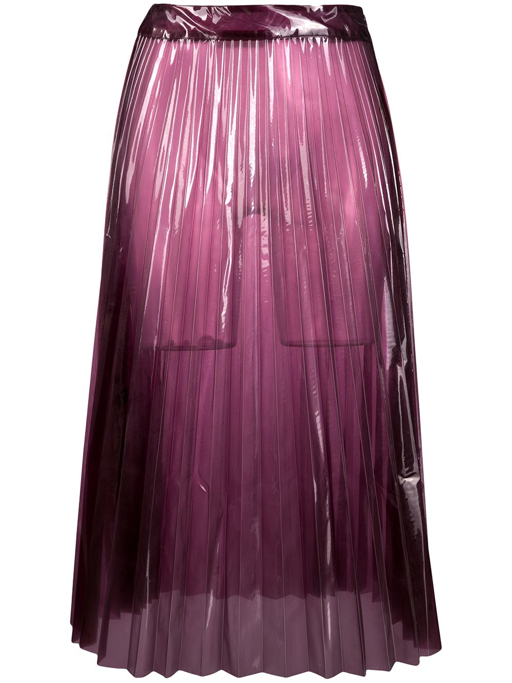 Glasslm Plisse Skirt