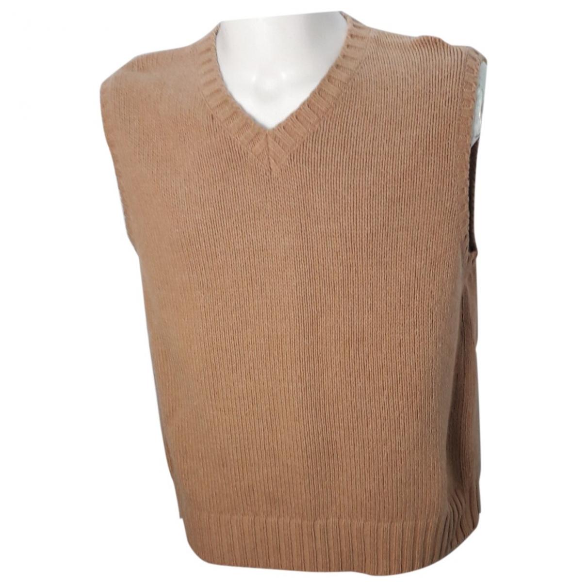 Moschino \N Pullover.Westen.Sweatshirts  in  Kamel Wolle