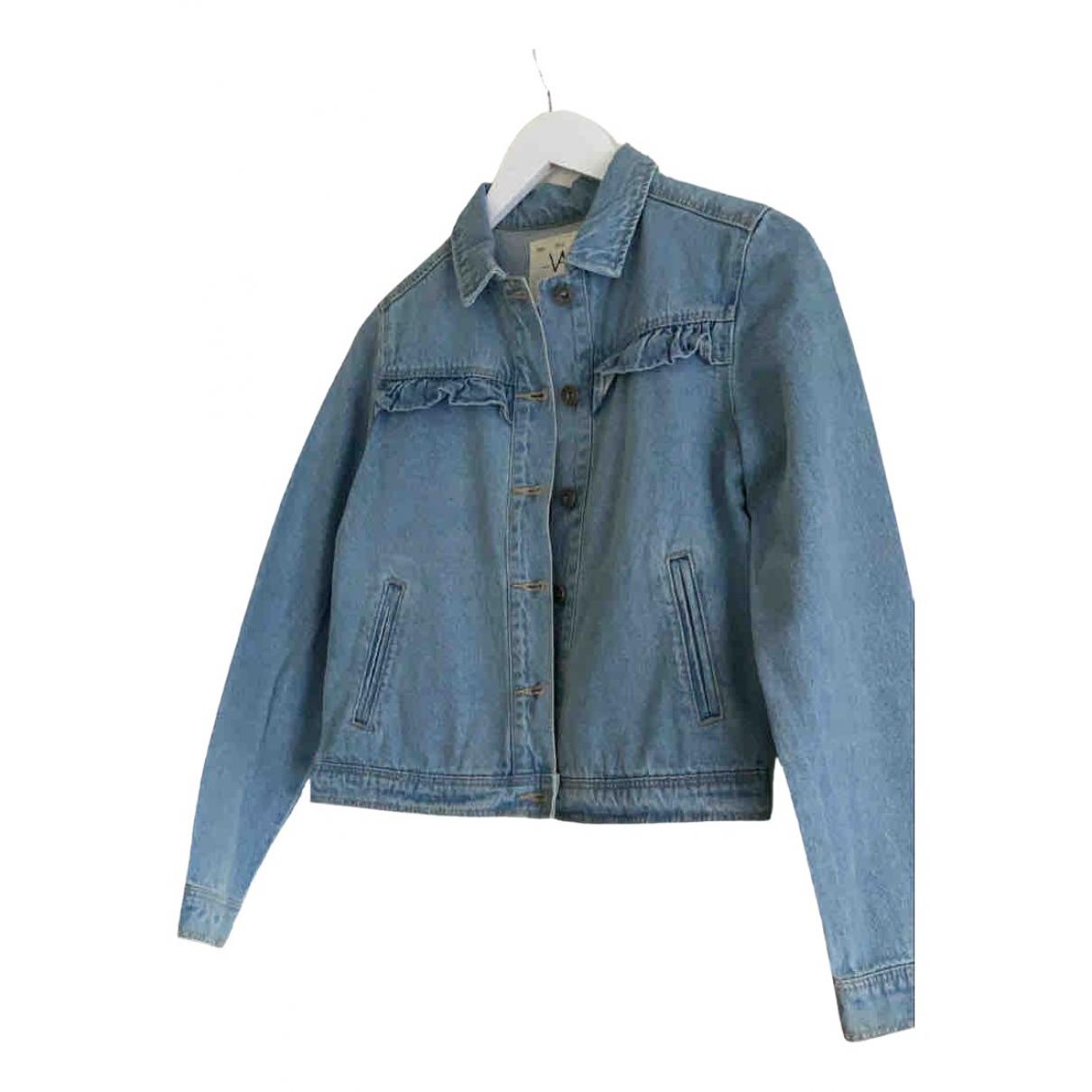 Ikks \N Jacke in  Blau Denim - Jeans