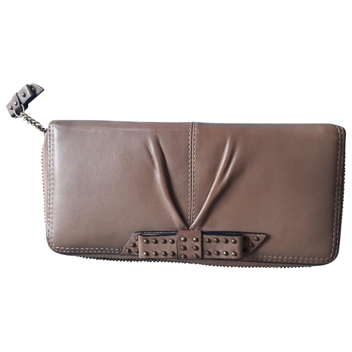 Kenzo \N Brown Leather wallet for Women \N