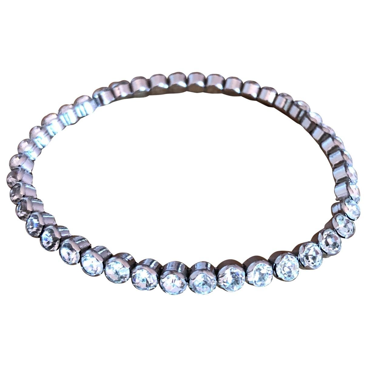 - Bracelet Tennis pour femme en metal - blanc