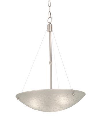 5092SN Cirrus 20 Inch Pendant Ceiling Light Modern Style  120V in Satin Nickel