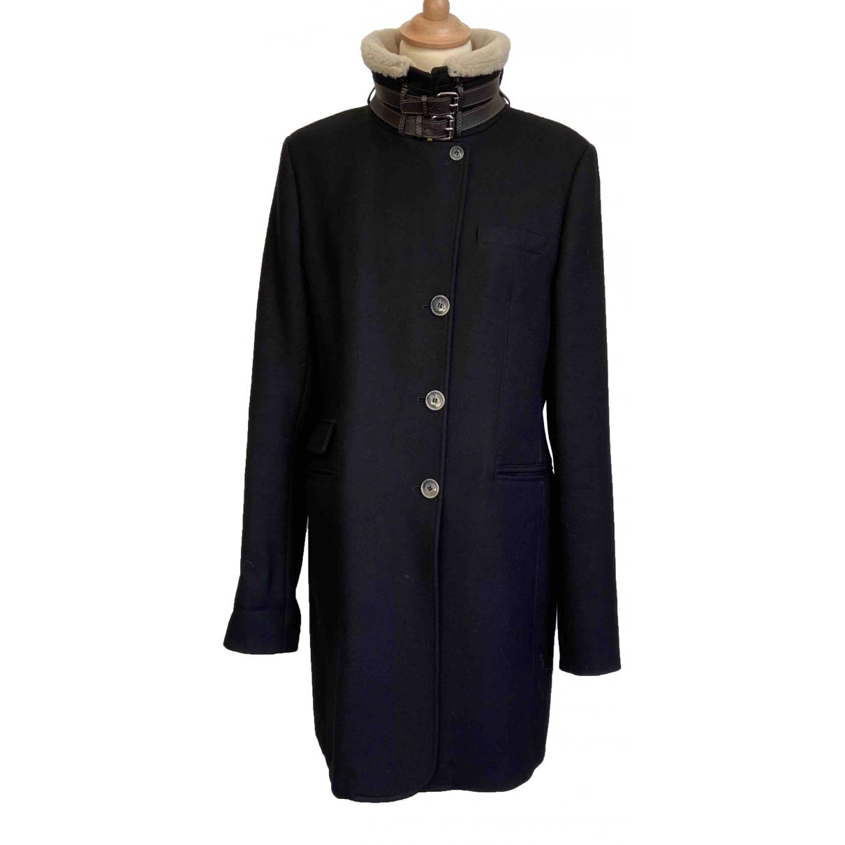 Mabrun \N Navy Wool coat for Women 48 IT