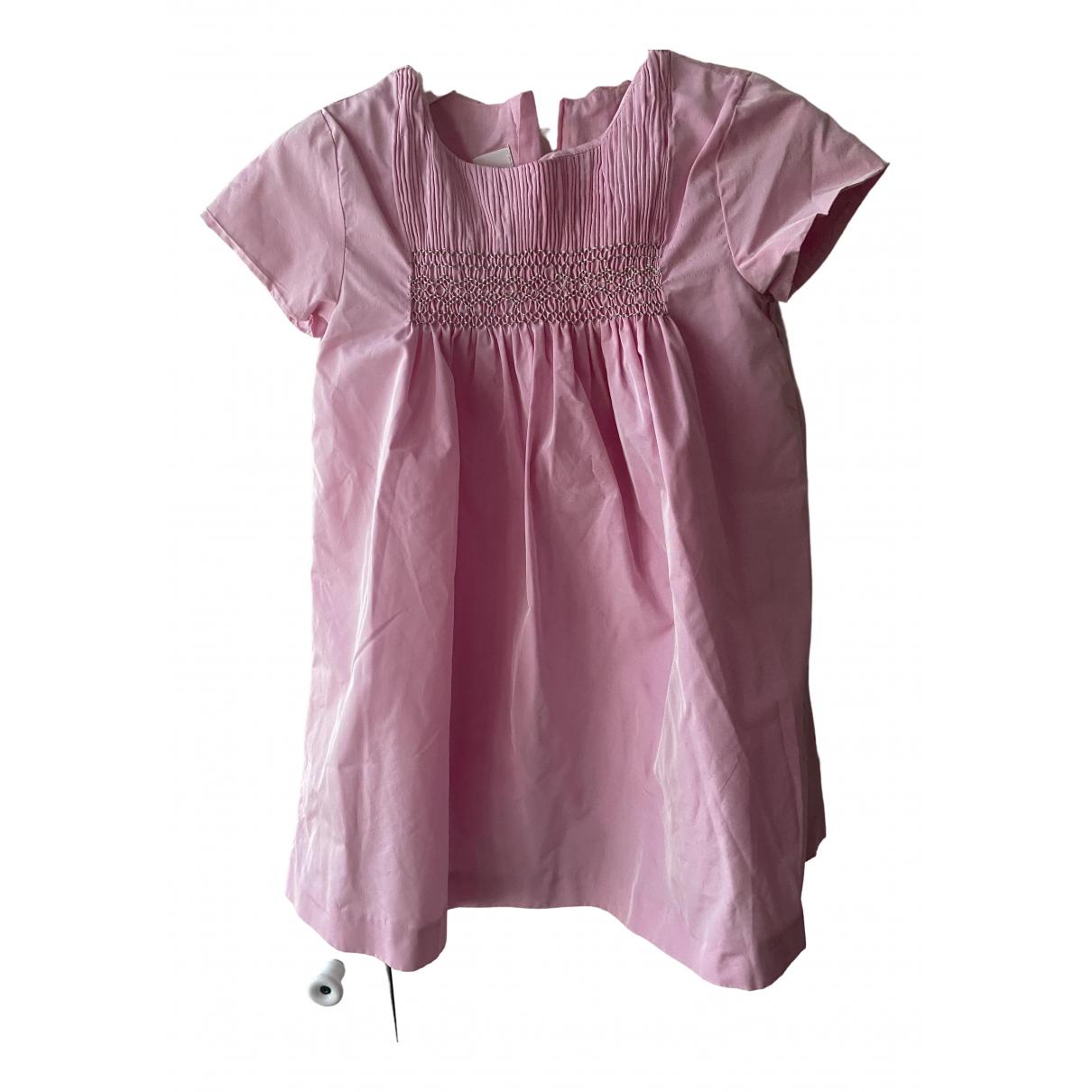 Jacadi \N Pink Silk dress for Kids 3 years - up to 98cm FR