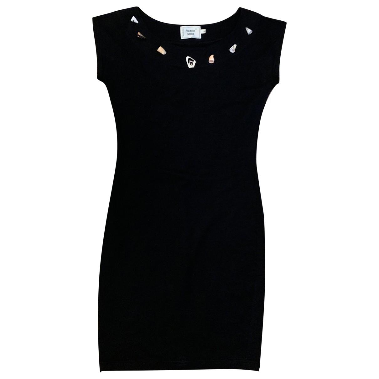 Non Signé / Unsigned \N Black Cotton dress for Women S International