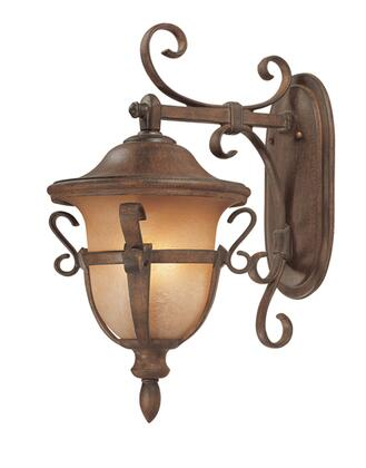 Tudor Outdoor 9392WT 3-Light Medium Wall Bracket in