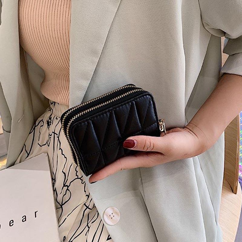 Ericdress PU Zipper Women's Mini Wallets