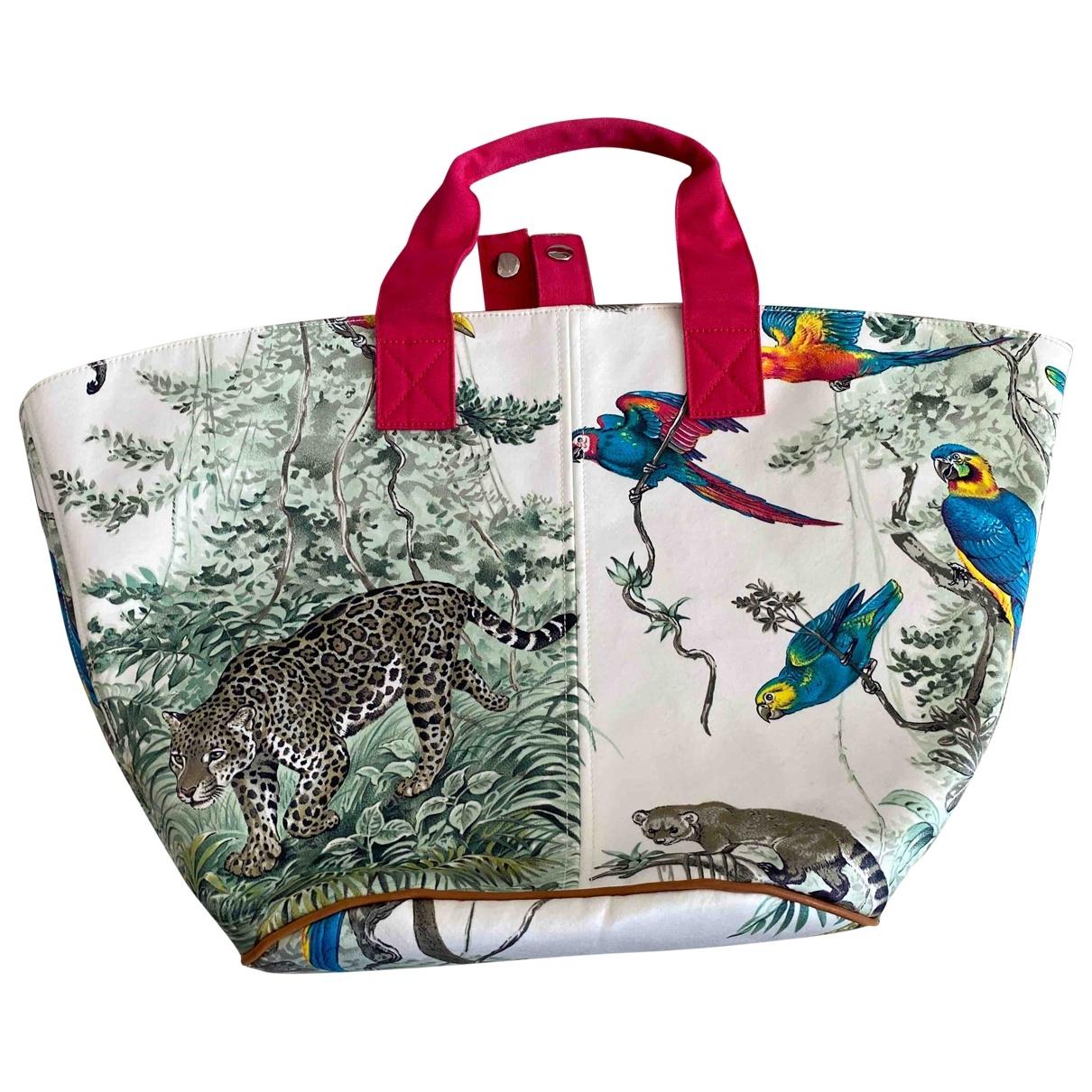 Hermès \N Beige Cotton handbag for Women \N