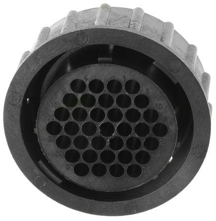 TE Connectivity Cable mnt plug,series1,sz 23,37 way,skt