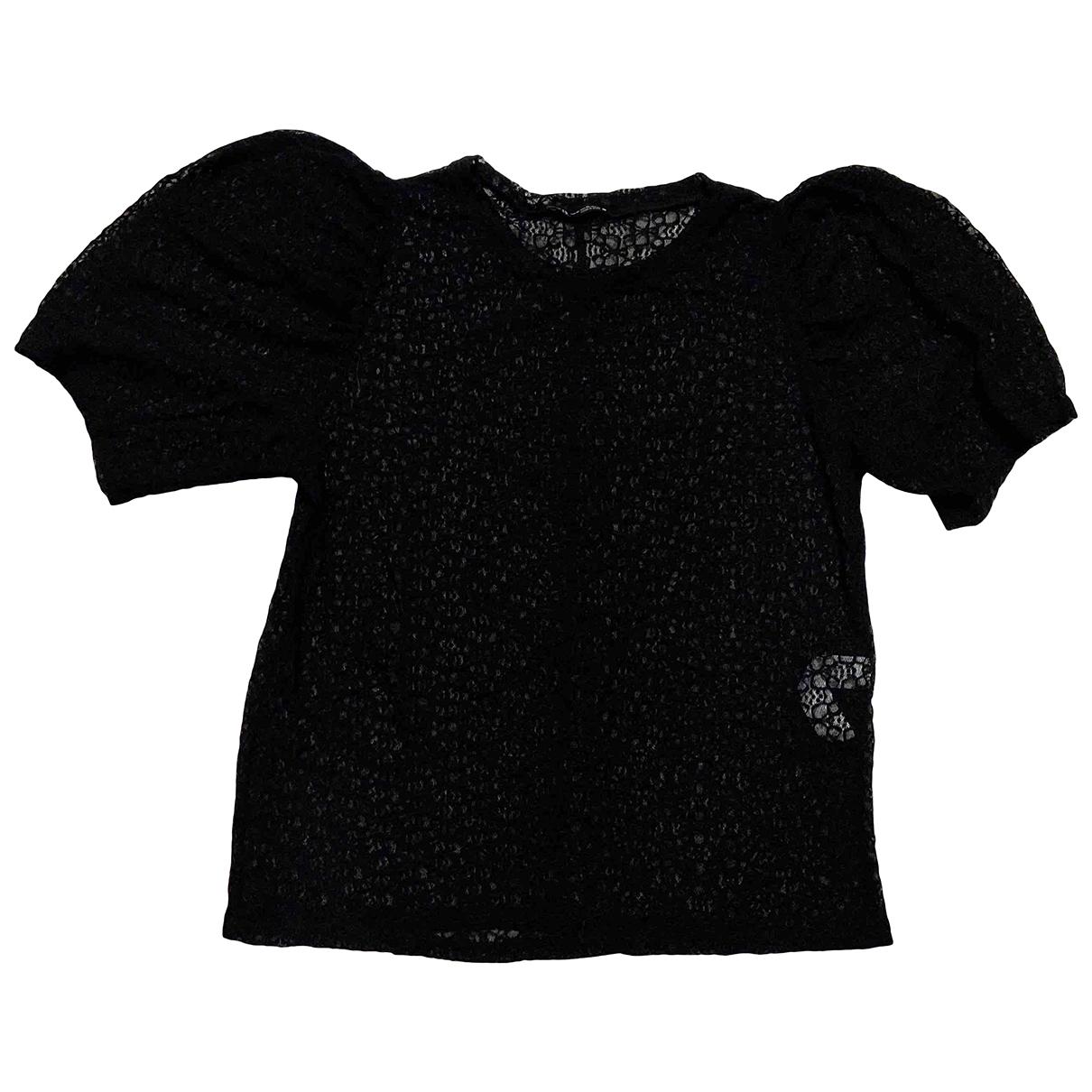 Zara N Black Lace  top for Women XL International