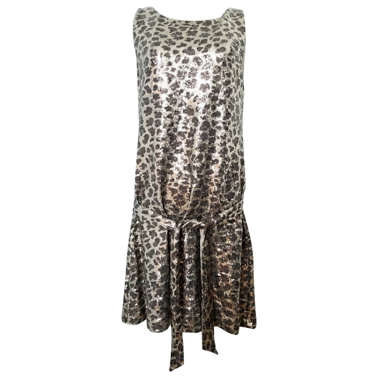 Moschino Love \N Metallic dress for Women 6 US