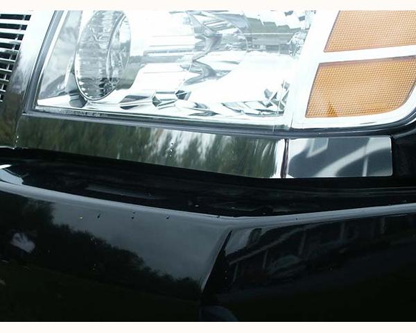 Quality Automotive Accessories 2-Piece Front Light Strips Nissan Titan 2011