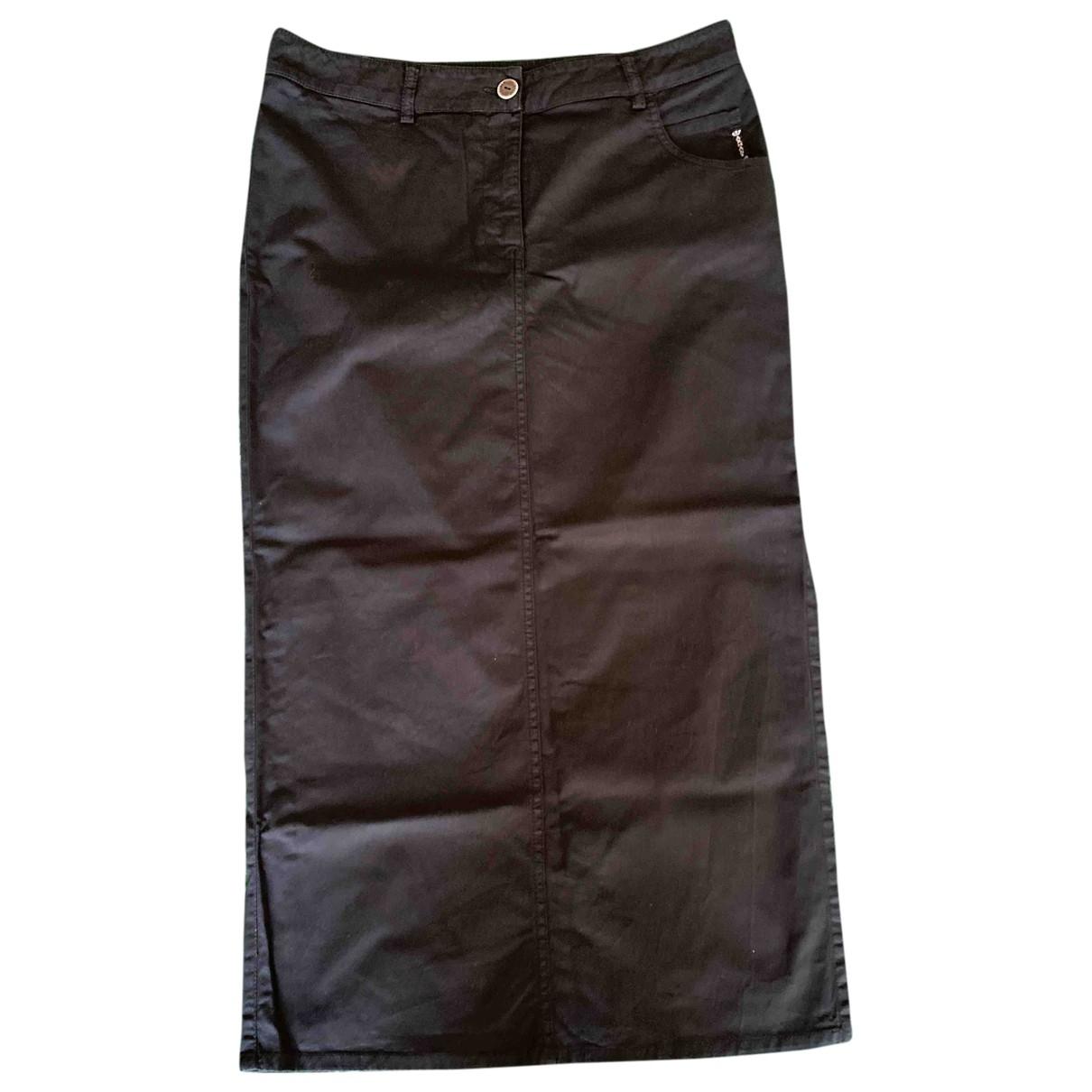 Armani Jeans \N Rocke in  Schwarz Baumwolle