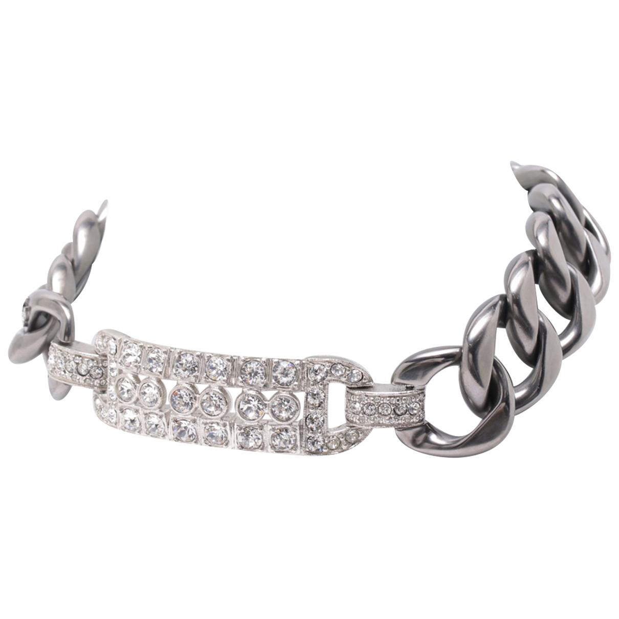 Chanel \N Kette in  Silber Vergoldet