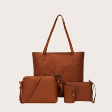 4pcs Large Capacity Tote Bag Set