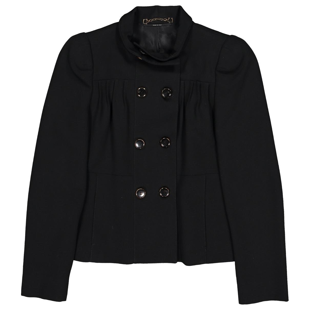 Gucci \N Jacke in  Schwarz Wolle