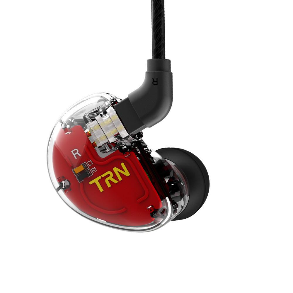 Original TRN V30 2BA+1DD Hifi Hybrid 6 Drivers Earbuds Dual Balanced Armature Dynamic Drivers In-ear Earphone