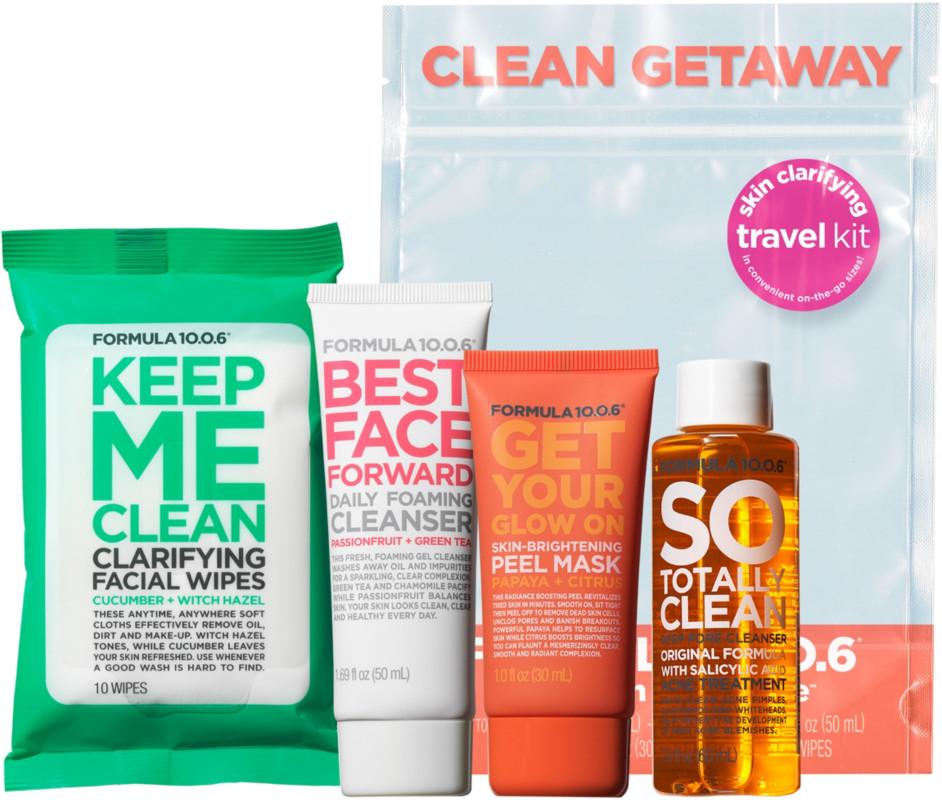 Clean Getaway Skin Clarifying Travel Kit