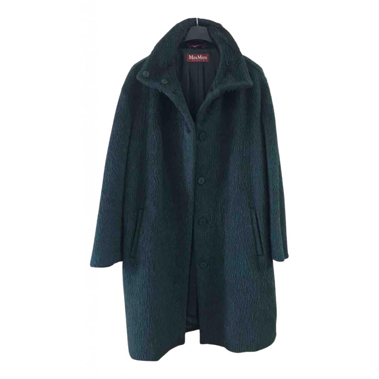 Max Mara Studio \N Green Wool coat for Women M International