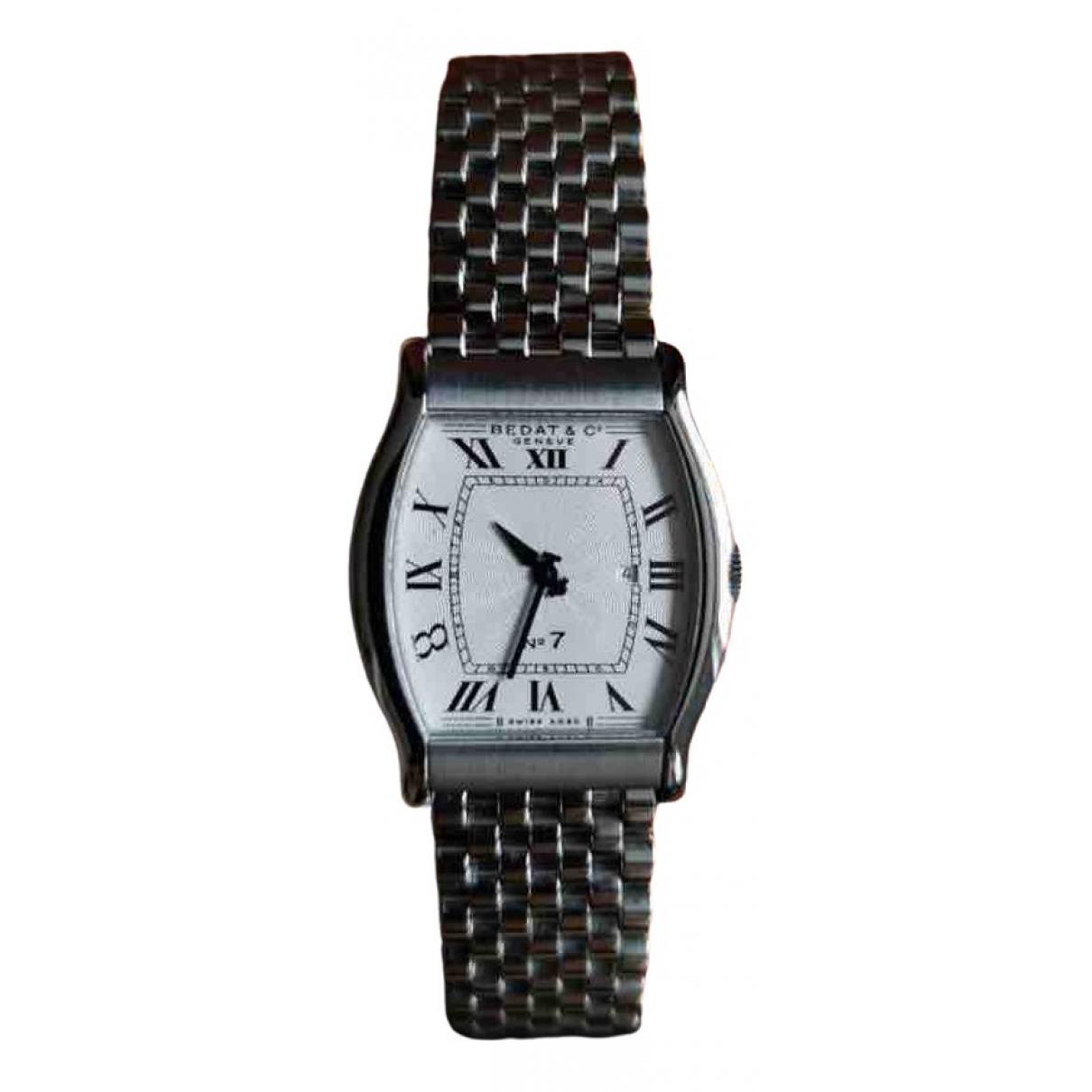 Bedat&co \N Silver Steel watch for Women \N
