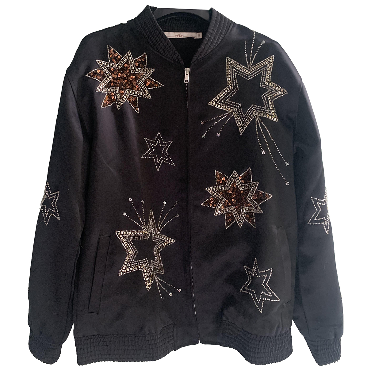 Non Signé / Unsigned N Black jacket for Women M International