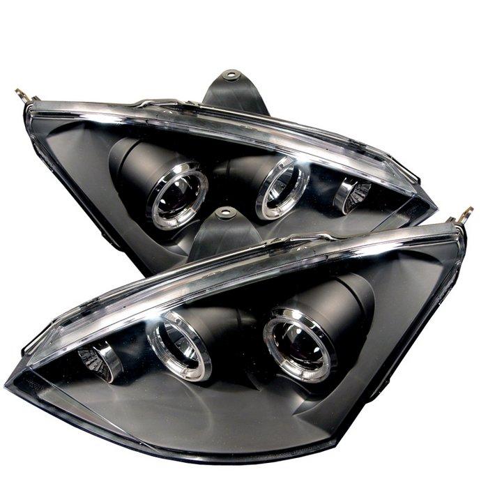 Spyder Halo Black Projector HeadLights Ford Focus 00-04