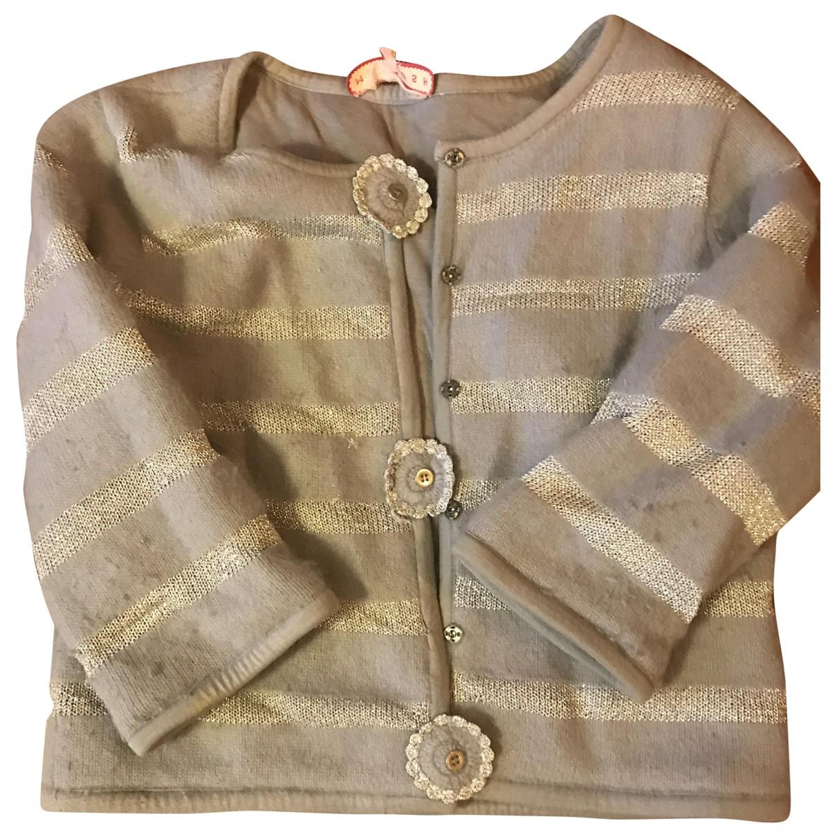 Manoush \N Pullover in  Tuerkis Kaschmir