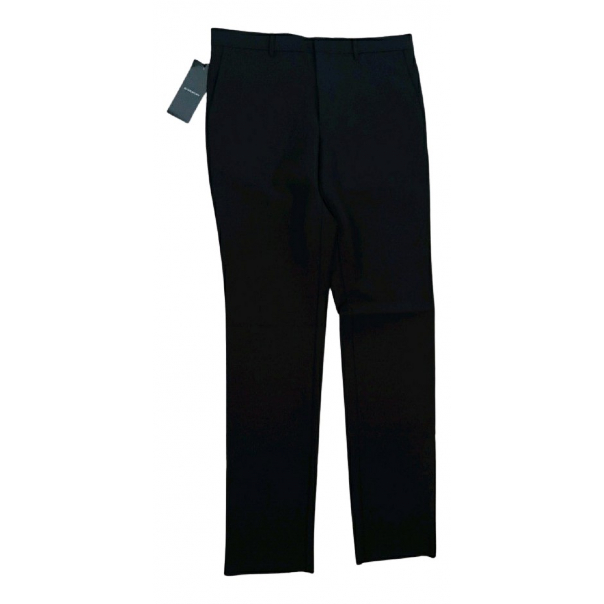 Givenchy N Black Wool Trousers for Men 48 IT