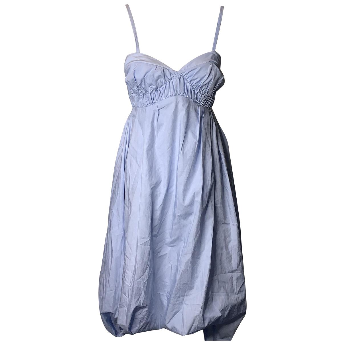 3.1 Phillip Lim \N Kleid in  Blau Baumwolle